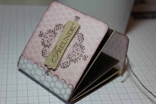 Minialbum/Fotoalbum mit Stempelset Zeichen der Liebe und Designerpapier Vintage-Mix, Bild5, gebastelt mit Produkten, Stempeln und Stanzen von Stampin\' Up!