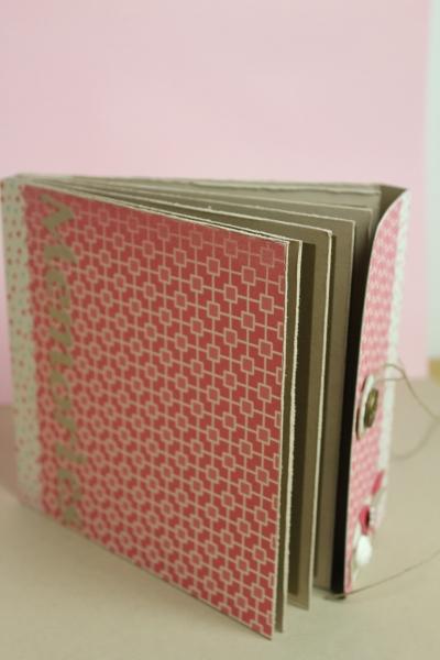 Minialbum/Fotoalbum, Bild4, gebastelt mit Produkten, Stanzen und Stempeln von Stampin\' Up!
