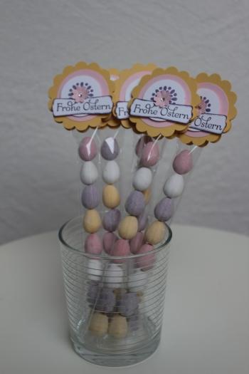 Kleine Geschenke zu Ostern, Ostereier schön verpackt, Bild 2, gebastelt mit Produkten, Stempeln und Stanzen von Stampin\' Up!