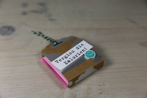 Blitzverpackung für Ritter Sport Mini, Bild2, gebastelt mit Produkten von Stampin\' Up!
