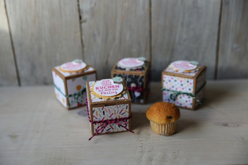 Mini-Geschenkschachteln mit Muffin, Bild1, gebastelt mit Produkten von Stampin\' Up!
