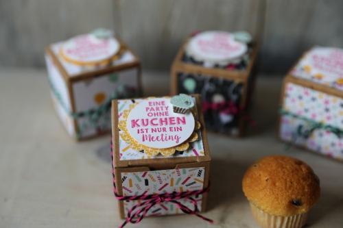 Mini-Geschenkschachteln mit Muffin, Bild2, gebastelt mit Produkten von Stampin\' Up!