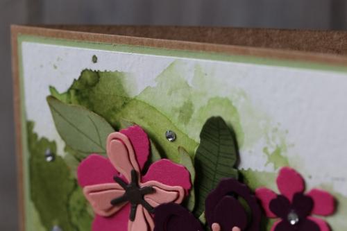 Glückwunschkarte Botanical Blooms, Bild3, gebastelt mit Produkten von Stampin\' Up!
