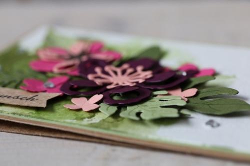 Glückwunschkarte Botanical Blooms, Bild4, gebastelt mit Produkten von Stampin\' Up!