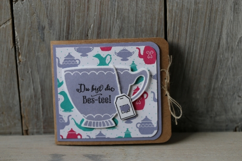 Teeverpackung, Bild1,gebastelt mit Produkten von Stampin\' Up!