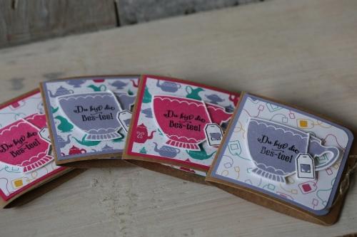 Teeverpackung, Bild2,gebastelt mit Produkten von Stampin\' Up!
