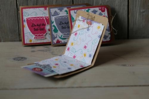 Teeverpackung, Bild3,gebastelt mit Produkten von Stampin\' Up!