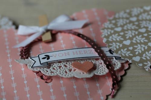 Valentinstagsherz, Bild3, gebastelt mit Produkten von Stampin\' Up!