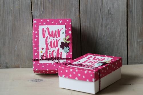 Verpackung für Cookies, Bild1, gebastelt mit Produkten von Stampin\' Up!