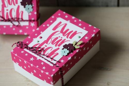 Verpackung für Cookies, Bild2, gebastelt mit Produkten von Stampin\' Up!