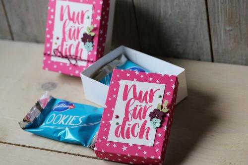 Verpackung für Cookies, Bild3, gebastelt mit Produkten von Stampin\' Up!