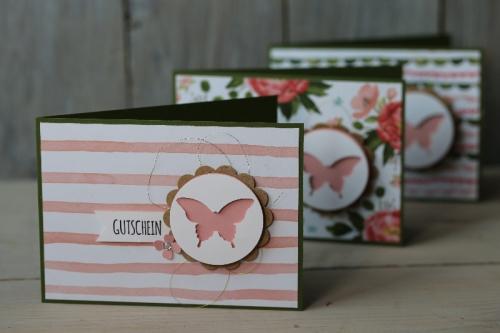 Geschenkgutschein Stempeldochmal, Bild1, gebastelt mit Produkten von Stampin\' Up!