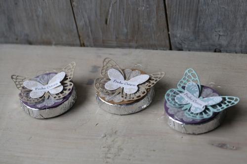 Schnelle Tischdeko mit Schmetterling, Bild 1, gebastelt mit Produkten von Stampin\' Up!