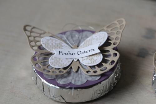 Schnelle Tischdeko mit Schmetterling, Bild 4, gebastelt mit Produkten von Stampin\' Up!