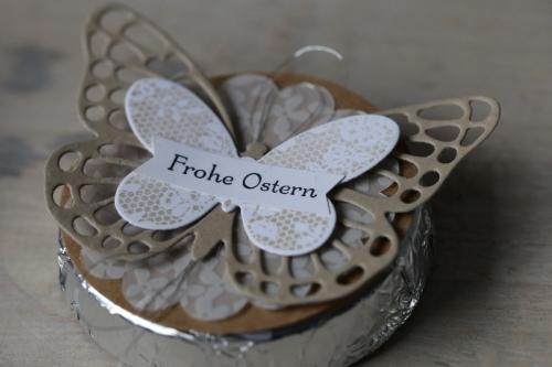 Schnelle Tischdeko mit Schmetterling, Bild 2, gebastelt mit Produkten von Stampin\' Up!