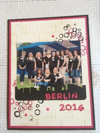 Demotreffen Berlin, gebastelt mit Produkten von Stampin\' Up!