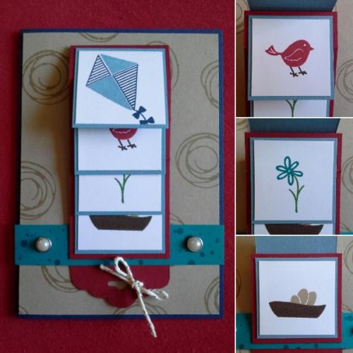 Blog Hop Diane Röckel, Bild1, gebastelt mit Produkten von Stampin\' Up!