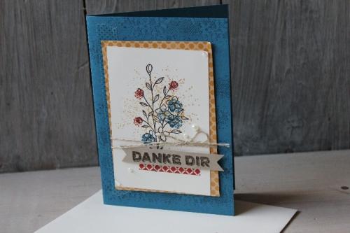 GrußKarte Touches of Texture, Bild4, gebastelt mit Produkten von Stampin\' Up!.