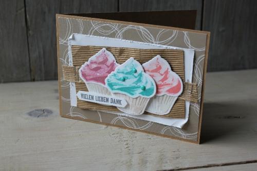 Blog Hop Cupcake für dich, Bild3, gebastelt mit Produkten von Stampin\' Up!