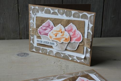 Blog Hop Cupcake für dich, Bild2, gebastelt mit Produkten von Stampin\' Up!