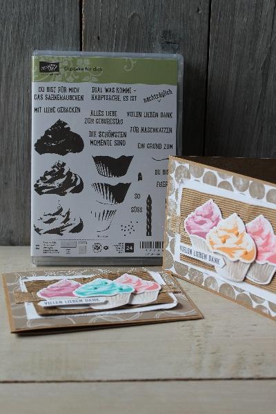 Blog Hop Cupcake für dich, Bild1, gebastelt mit Produkten von Stampin\' Up!