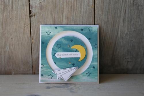 Kullerkarte Himmelsstürmer, Bild1, gebastelt mit Produkten von Stampin\' Up!