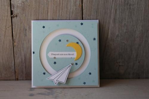 Kullerkarte Himmelsstürmer, Bild2, gebastelt mit Produkten von Stampin\' Up!
