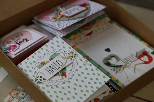 Kartenset Gute Laune Grüße, gebastelt mit Produkten von Stampin\' Up!