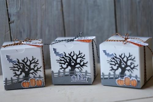 Halloweenbox Spooky Fun, gebastelt mit Produkten von Stampin\' Up!