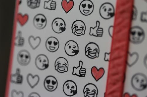Grußkarte Emoji, Bild3, gebastelt mit Produkten von Stampin\' Up!