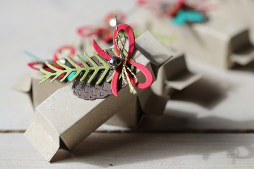 Mentos Mini Verpackung, Bild1, mit Produkten von Stampin\' Up!