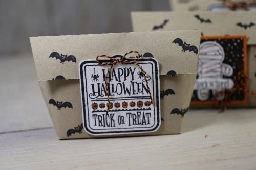 Freitagsvideo/Halloweentüte, mit Produkten von Stampin\' Up!