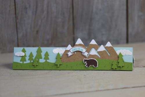 Freitagsvideo/Tobleroneverpackung, Bild1, mit Produkten von Stampin\' Up!