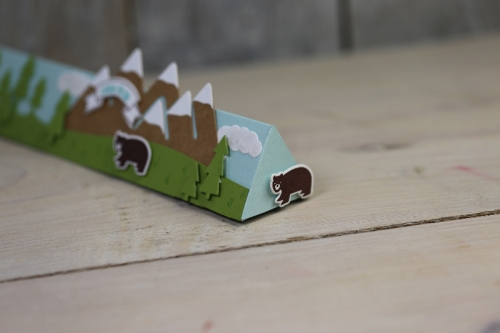 Freitagsvideo/Tobleroneverpackung, Bild2, mit Produkten von Stampin\' Up!