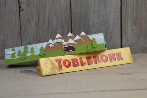 Freitagsvideo/Tobleroneverpackung, Bild4, mit Produkten von Stampin\' Up!
