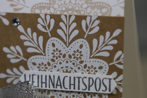Verwendung weißes Embossing Pulver von Stampin\' Up!, Bild2.