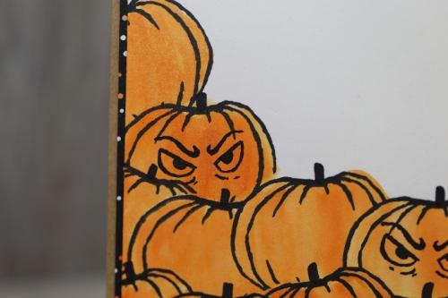 Halloweenkarte, Bild3, basteln mit Stampin\' Up!