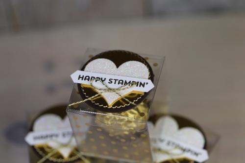Goldene Verpackung für Roche, Bild3, basteln mit Stampin\' Up!