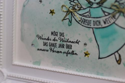 Bilderrahmen Weihnachtlich dekoriert, Bild3, gebastelt mit Produkten von Stampin\' Up!