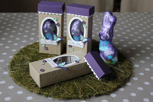 Osterhasenverpackung, Bild1, gebastelt mit Produkten von Stampin' Up!.