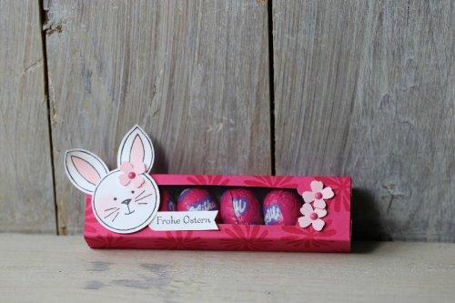 Ostereierverpackung Friends & Flowers, Bild1, gebastelt mit Produkten von Stampin' Up!