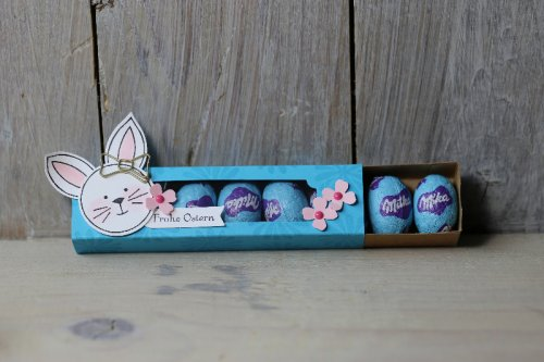 Ostereierverpackung Friends & Flowers, Bild4, gebastelt mit Produkten von Stampin' Up!