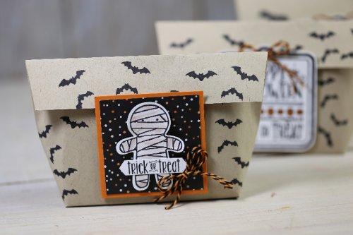 Freitagsvideo/Halloweentüte,  mit Produkten von Stampin' Up!