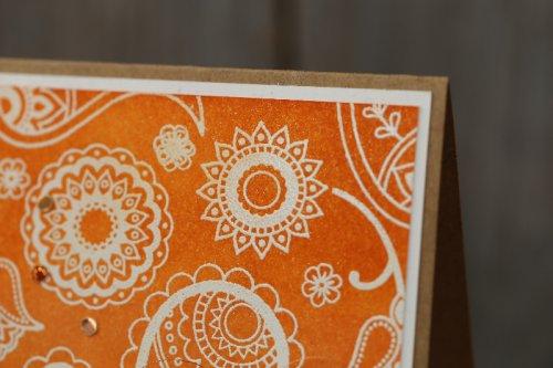Geburtstagskarte Paisleys & Posies, Bild2,  mit Produkten von Stampin' Up!