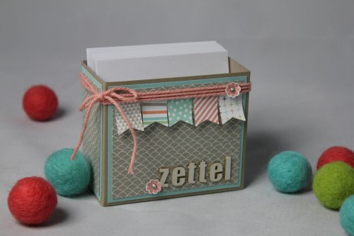 Zettelbox/Sale-A-Bration, Bild 1,  gebastelt mit Produkten von Stampin' Up
