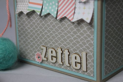 Zettelbox/Sale-A-Bration, Bild 3,  gebastelt mit Produkten von Stampin' Up