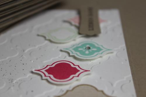 Grußkarte Mosaic Madness, Bild3, gebastelt mit Produkten, Stanzen und Stempeln von Stampin\' Up!