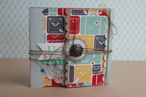 Minialbum/Fotoalbum Reise, Bild1, gebastelt mit Produkten von Stampin\' Up!