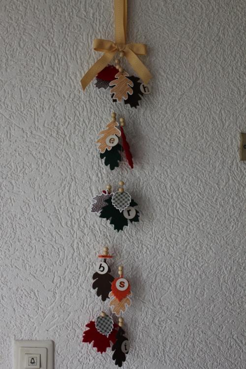 Herbstdeko, Bild1, gebastelt mit Produkten von Stampin\' Up!