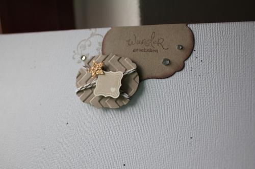 Scrapbookseite/Layout Babyfoto, Bild 4, gebastelt mit Produkten, Stempeln und Stanzen von Stampin\' Up!